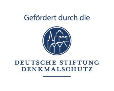 Gefördert durch die Deutsche Stiftung Denkmalschutz